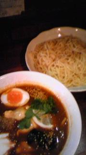 牛すじ・野菜つけそば 竜馬@神保町(3)