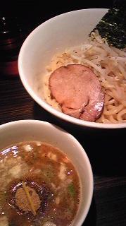 京鰹節つけ麺 愛宕@新橋(2)